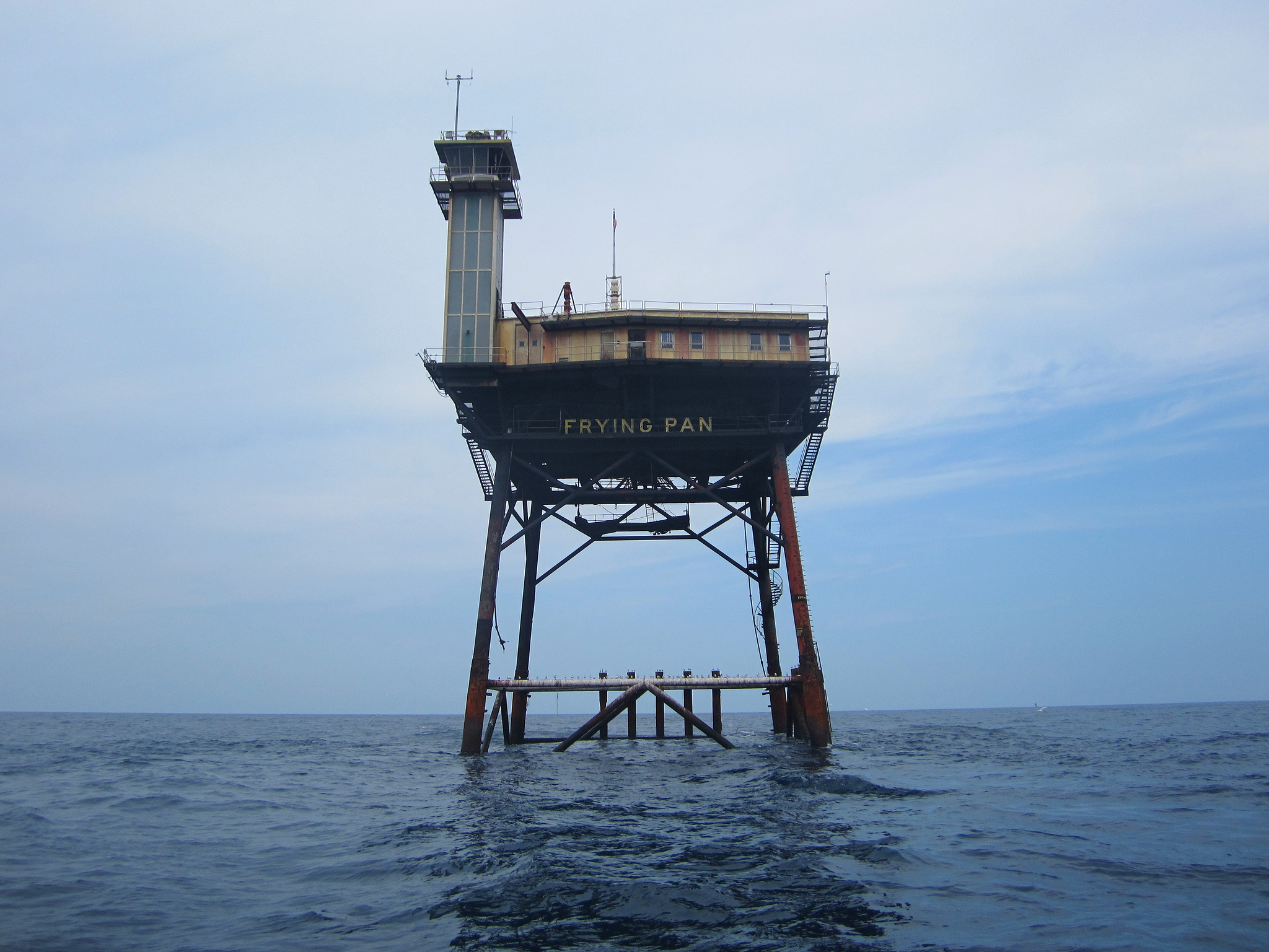 10 hidden gems you didn 39 t know were in north carolina for Frying pan tower fishing