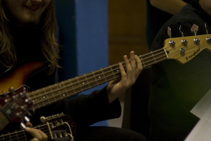 3. Bass guitar was originally invented in Washington.