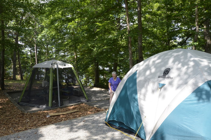 13. Set up camp at a state park