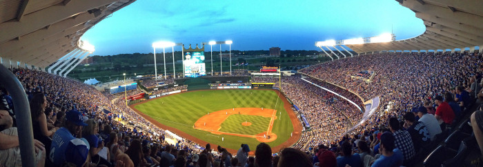 13. Cheering on the Royals to another world victory.