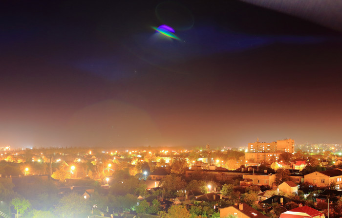 1. UFOS Flying in Augusta, Georgia