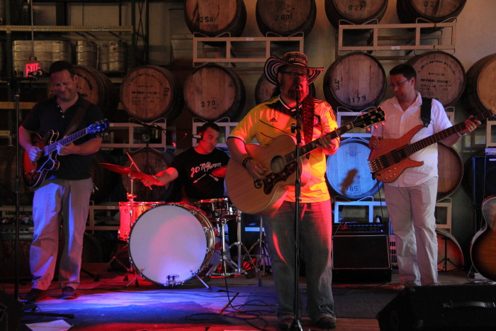 10. Ring in happy hour with some local music.