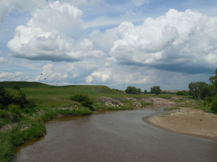 10. Cannonball River, Mott