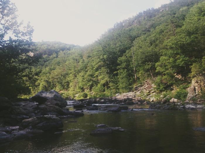 7. Take a dip in Goshen Pass...