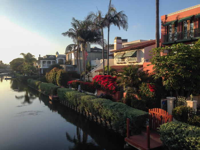 6. The Canals and Bridges in Venice Beach
