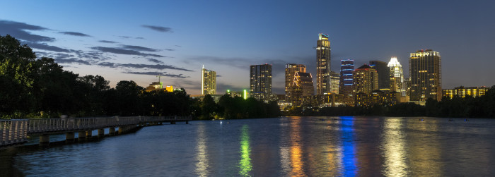 10. Outdoor recreation is second nature to the people of Austin. They've even expanded their Towne Lake hike and bike trail across the river - Lady Bird Johnson Boardwalk.