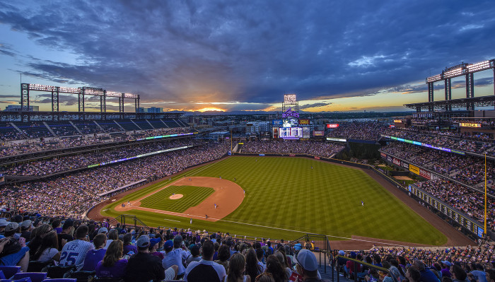 5.) Indulge in an entire order of Monster Chicken Nachos at Coors Field.