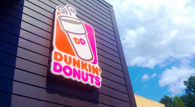 2. You don't just love your coffee, you need your coffee and expect there to be a Dunkin Donuts on just about every corner.