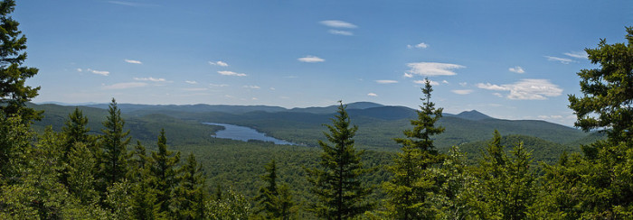 4.  Groton State Forest, Kettle Pond Trail and Owl's Head
