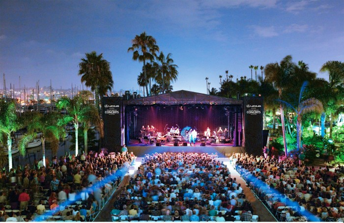 5. Humphreys Concerts by the Bay in San Diego