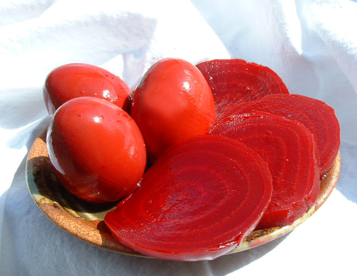 8. Red Beet Eggs