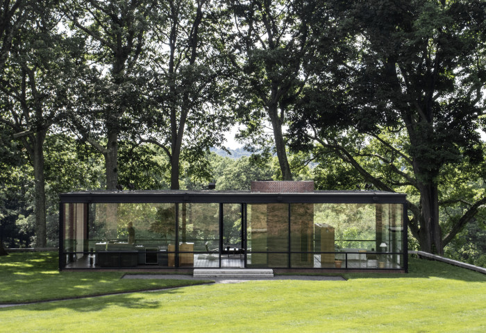 5. The Glass House, New Canaan