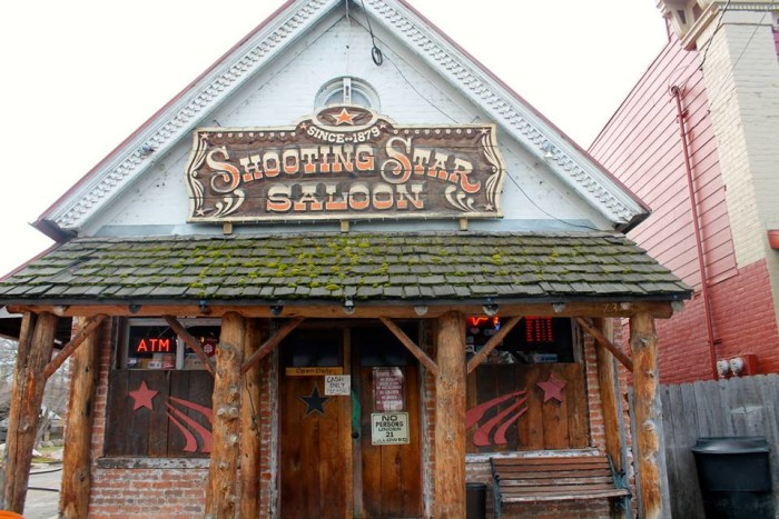 11. In the evening, grab a drink at the Shooting Star Saloon, Utah's oldest continually operating bar.