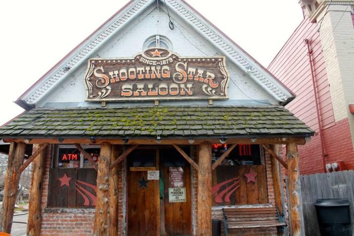 Grab a drink at Shooting Star Saloon.