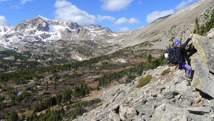 3.) ...and climbing 14ers.