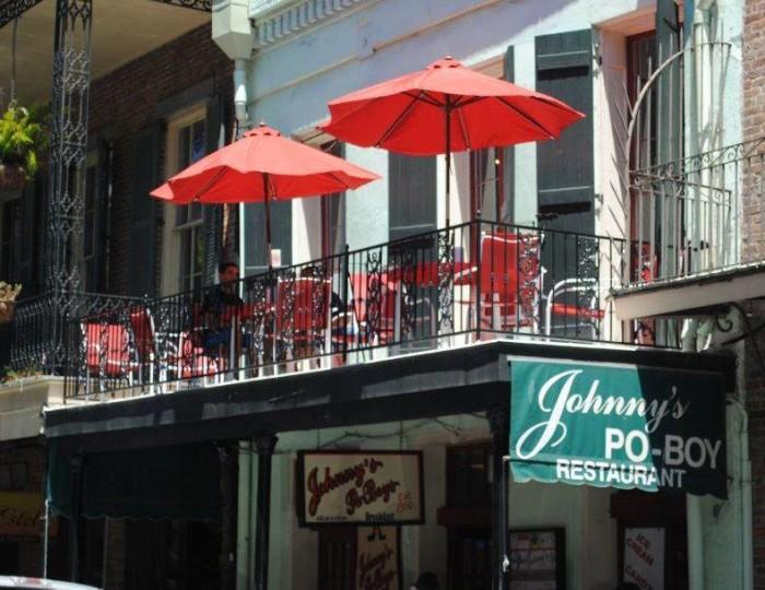 1. Johnny's Po-Boys, 511 St. Louis Street