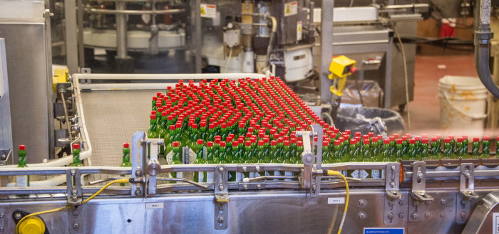 9. Most Tabasco Sauce Production