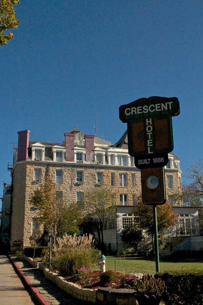 14. The Crescent Hotel, Eureka Springs, 2014