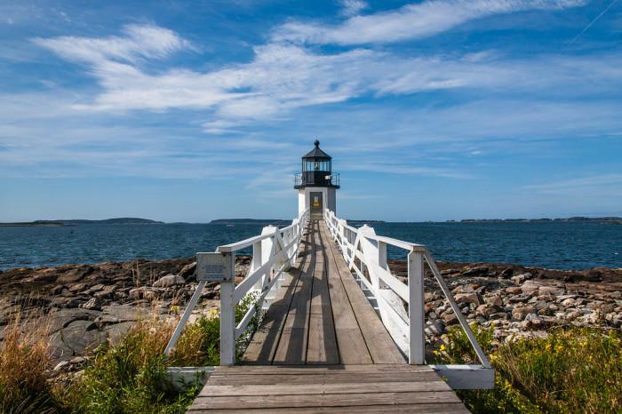1. Marshall Point Light, Port Clyde (Forrest Gump)