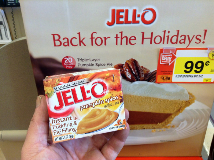 2. Jell-O gelatin and pudding mixes