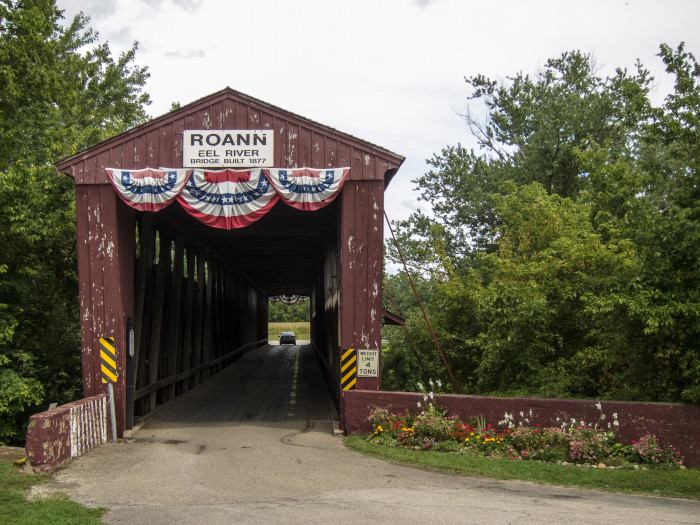 4. Roann Covered Bridge - Roann