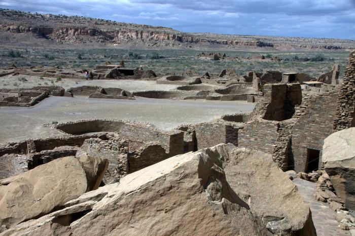 9. Chaco Culture National Historic Park is a true treasure.