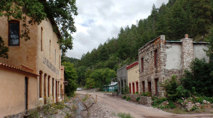 8. Any of New Mexico's ghost towns