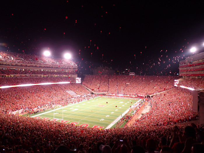 14. We've got the Huskers...and an undying loyalty to them.