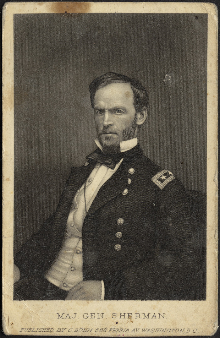 During the Civil War, the hotel was occupied by General Sherman and used as a Union hospital until the end of the war.