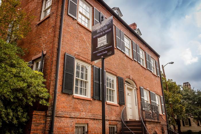 5. The Davenport House—324 E State St, Savannah, GA 31401