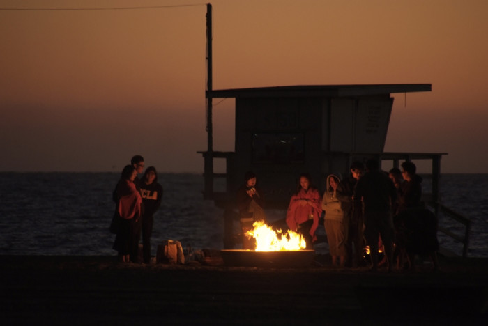 5. Beach Bonfire at Dockweiler State Beach in Los Angeles
