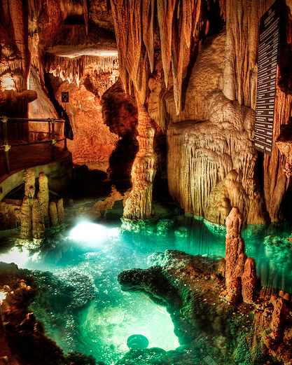 18. ...to the depths of the famous caverns.