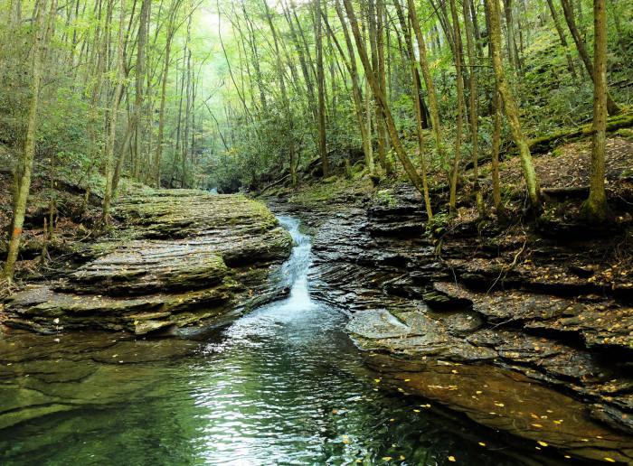 14) Devil's Bathtub - Ft. Blackmore, Virginia