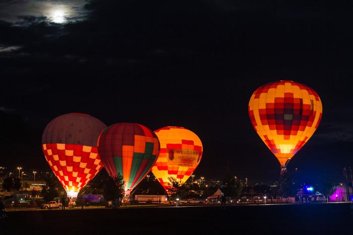 7. Helen Balloon Festival