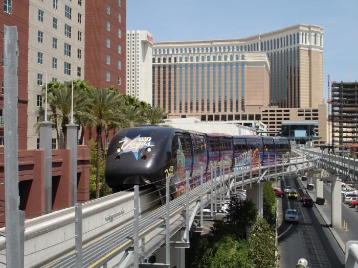 3. Las Vegas Monorail