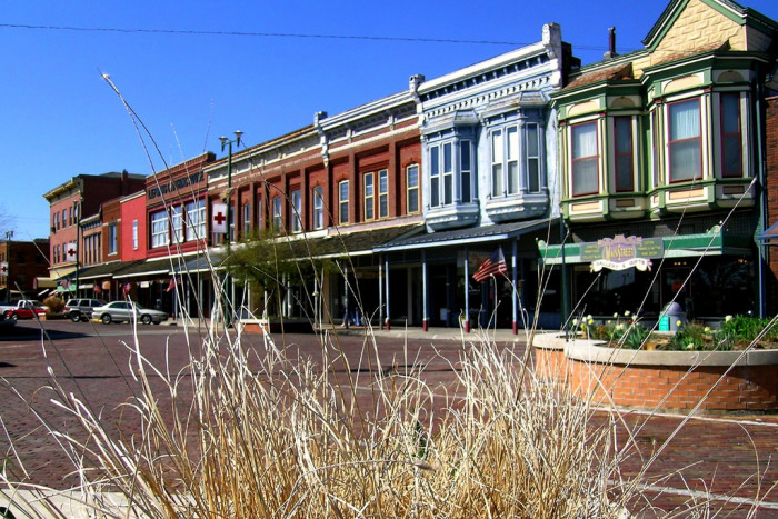 4. ...small towns...