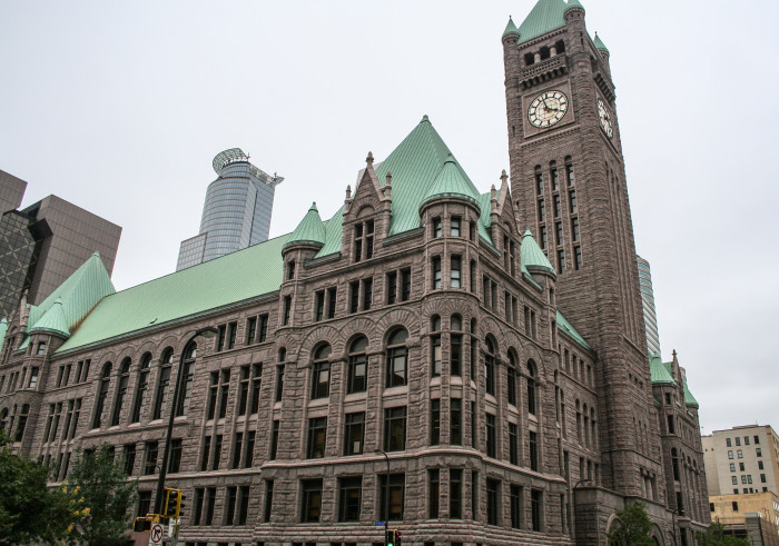 2. The clocks on Old City Hall in Minneapolis have faces bigger than Big Ben!