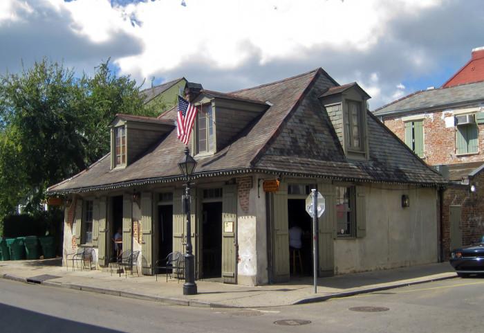 6) Jean Lafitte's Blacksmith Bar Shop, 941 Bourbon St.