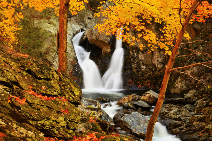 2. Bash Bish Falls represents the hidden natural splendor of Massachusetts.