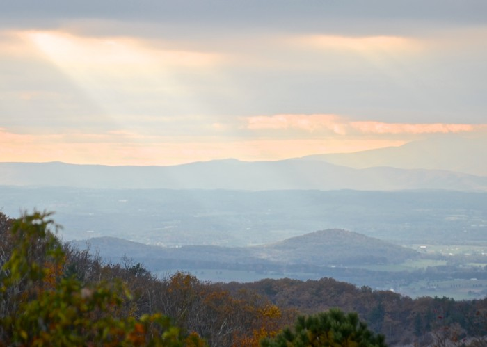 2. There's only one Shenandoah National Park.