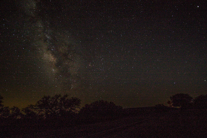 9. And while you're out there in the desolate West Texas mountains, do some stargazing.