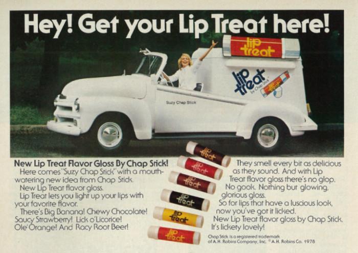 8.  1978 Beauty Ad