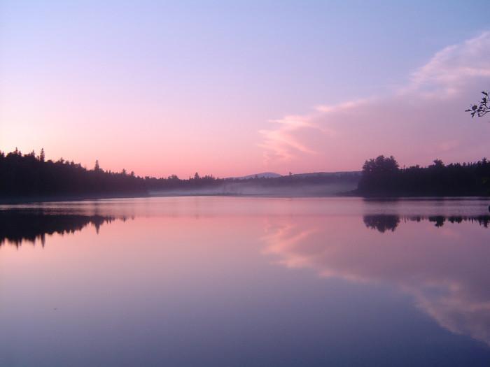 1. Chain of Ponds, Maine