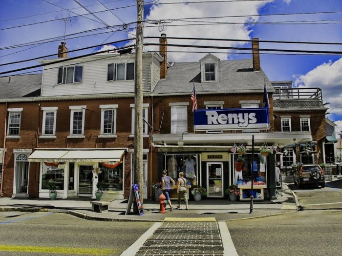 7. Any town with a Reny's, Maine
