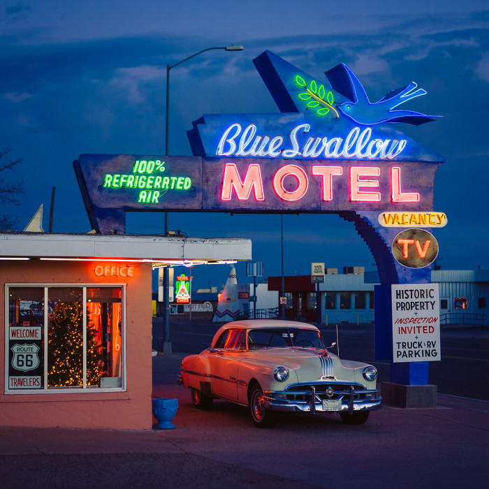 14. Some of the businesses that thrived during the heyday of Route 66 continue to operate.