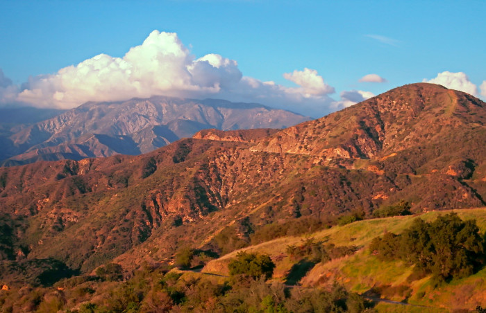 9. Mt. Baden-Powell in the San Gabriel Mountains looks like a perfect setting for an adventure flick.