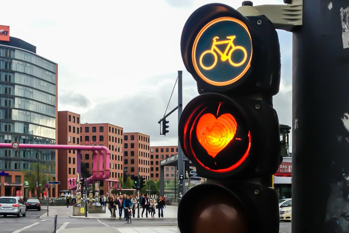 8. You can thank us for the modern traffic signal.