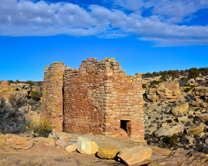 15. And, of course, we have 17 national monuments and landmarks (this is Hovenweep)!