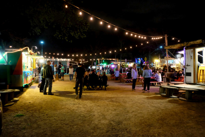 4. As for all happening cities, you've got to have delicious food selections. Austin takes it up a notch with their hundreds of food trucks serving up delicious eats day and night!