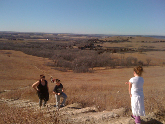 6. What better way to appreciate Kansas's diverse landscapes than by hiking the Konza Prairie...